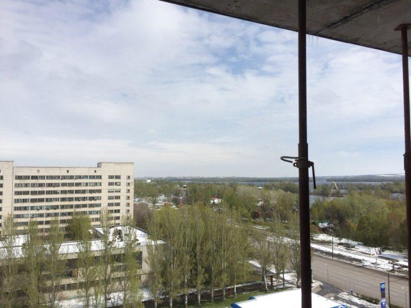 Вид из окна на 11 этаже в квартире 58,6 м2