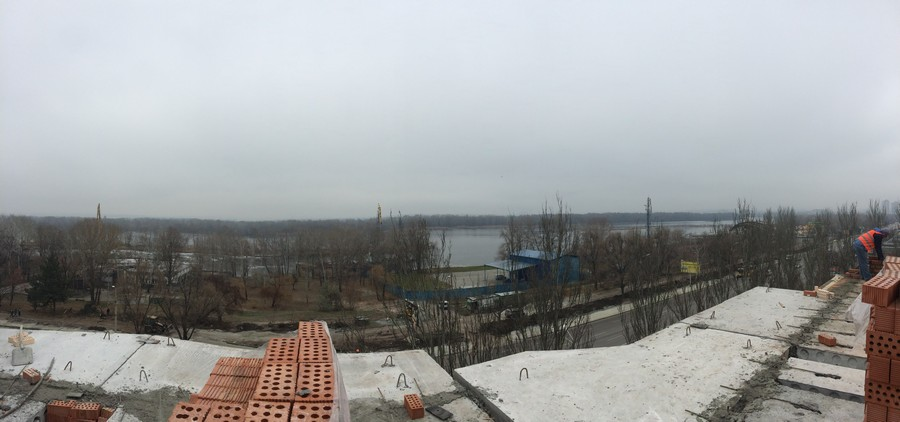 Foto 1 Vid na reku Dnepr s 7 yetazha 1 sekcii