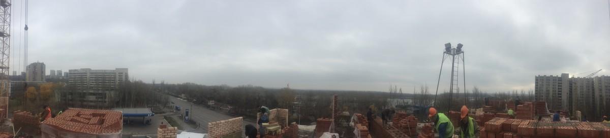 Panorama na gorod i Dnepr s 6 yetazha 1 sekcii