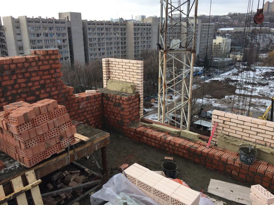 Foto 2 Prodolzhaem uteplyat nash dom. 1 sekciya 11 yetazh