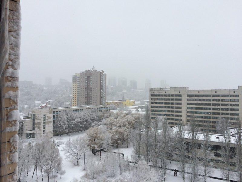 Завораживающий вид на город из квартиры 39,8 м2, 11 этаж, 1 секция