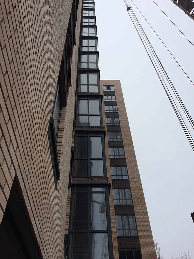 Лоджии квартиры 41,1м2
