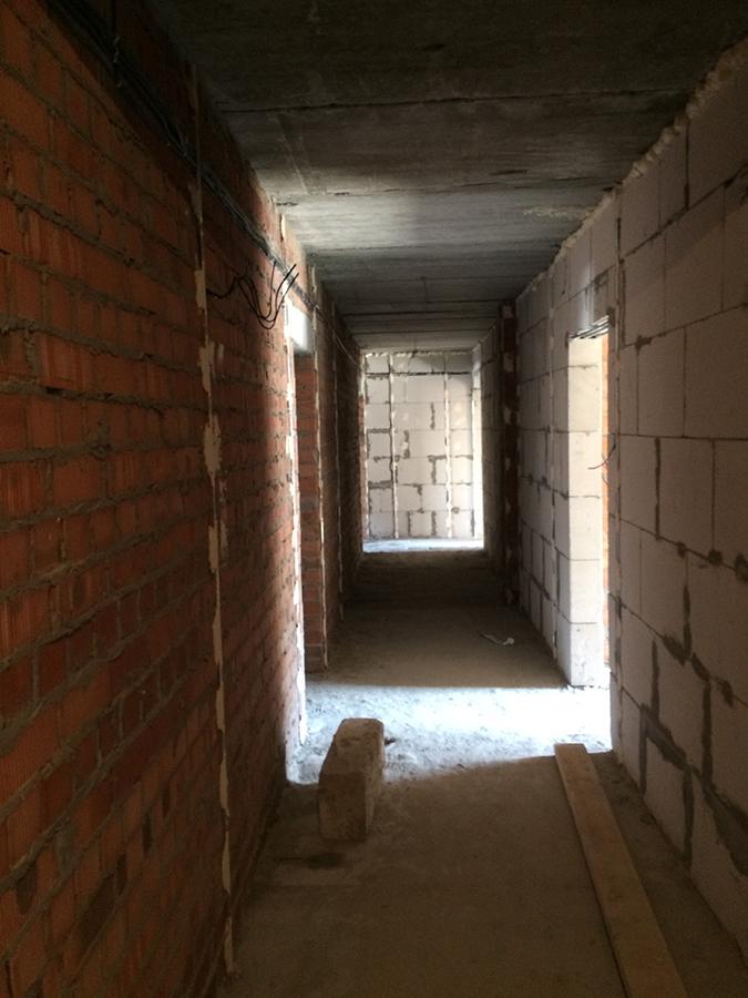 Подготовка стен в местах общего пользования к штукатурке, 2 секция