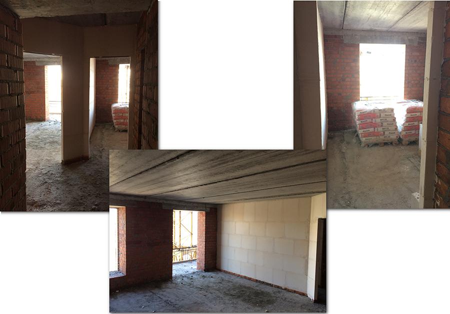 Квартира 62,2 м2, 2 секция