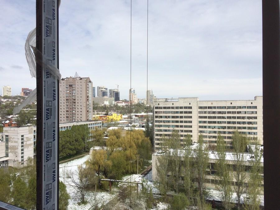 Вид из окна на 11 этаже в квартире 62,2 м2