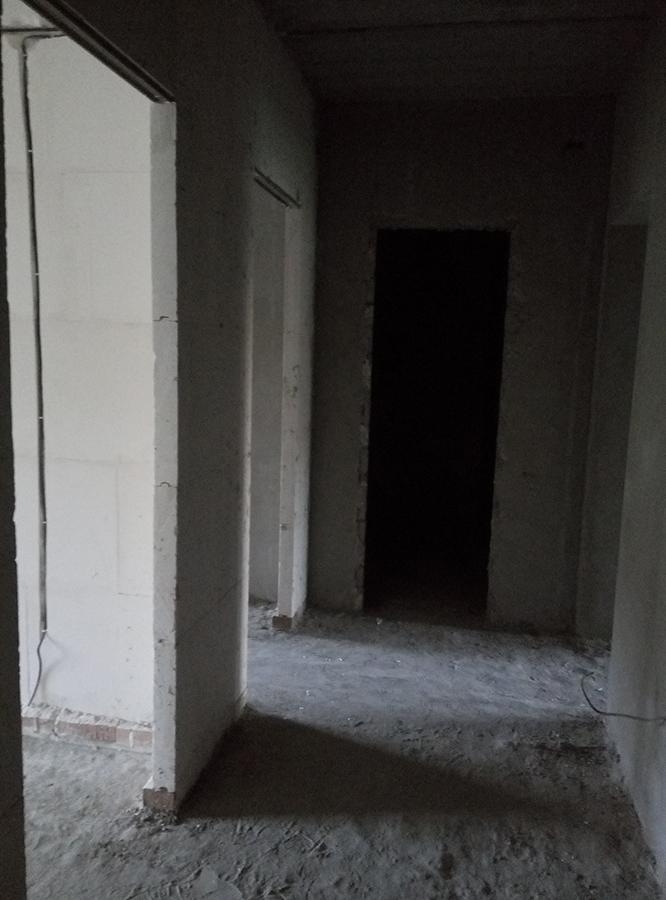 Вход в квартиру 57,3 м2