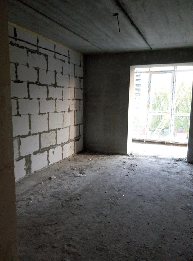 Спальня в квартире 57,3 м2