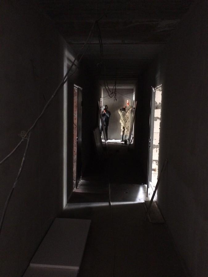 Установка входных дверей на 11 этаже