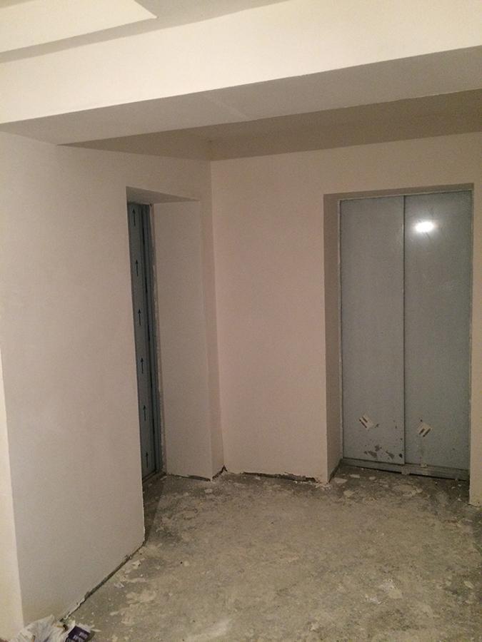 Установлены лифты