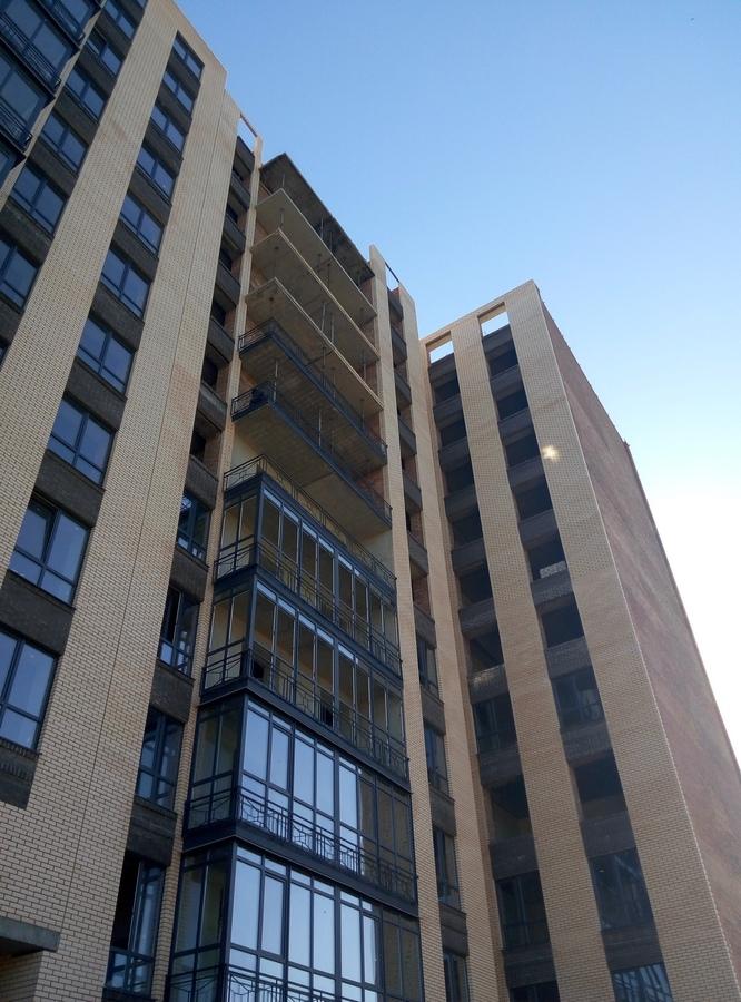 Остекление на уровне 3-го этажа