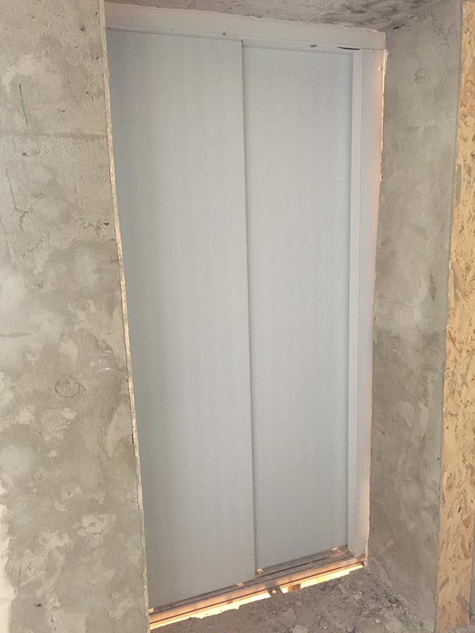 установка лифтов во второй секции