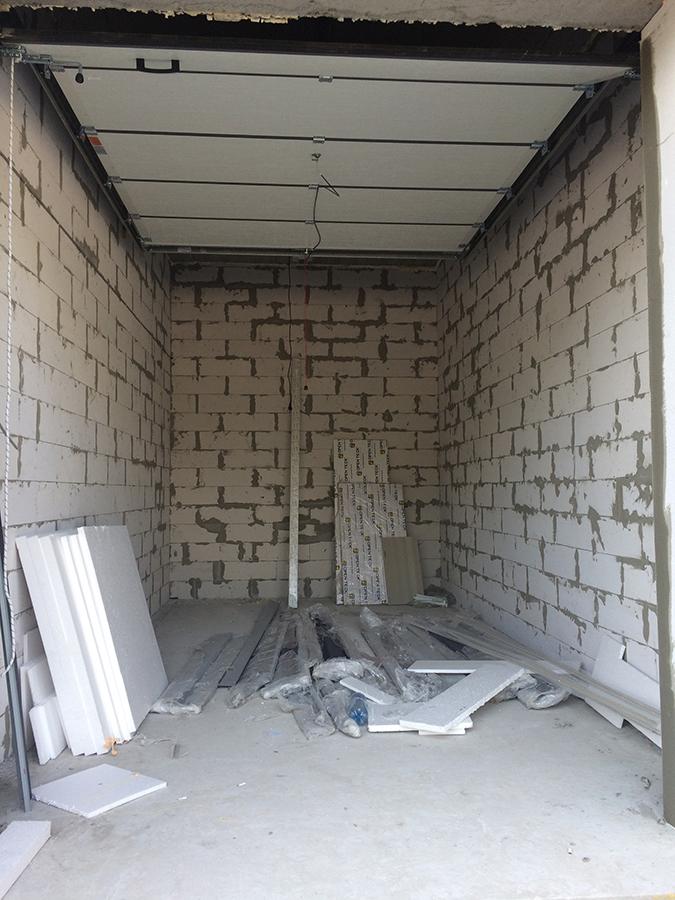 а так выглядят наши гаражи.