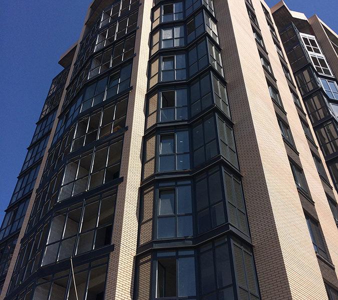 фасад третьей секции
