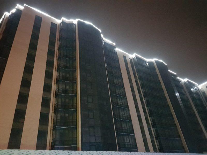 Ночной фасад