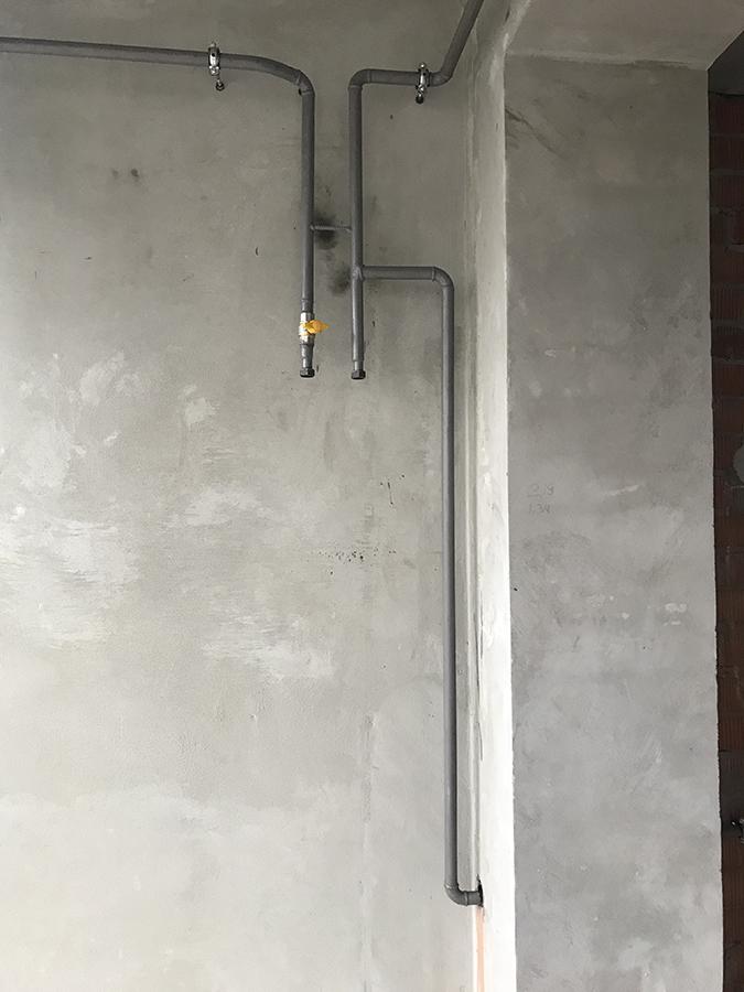 обвязка газом 2-я секция