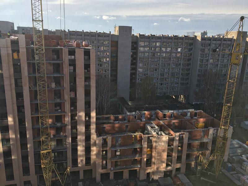 Начинаем перекрытие 4-го этажа