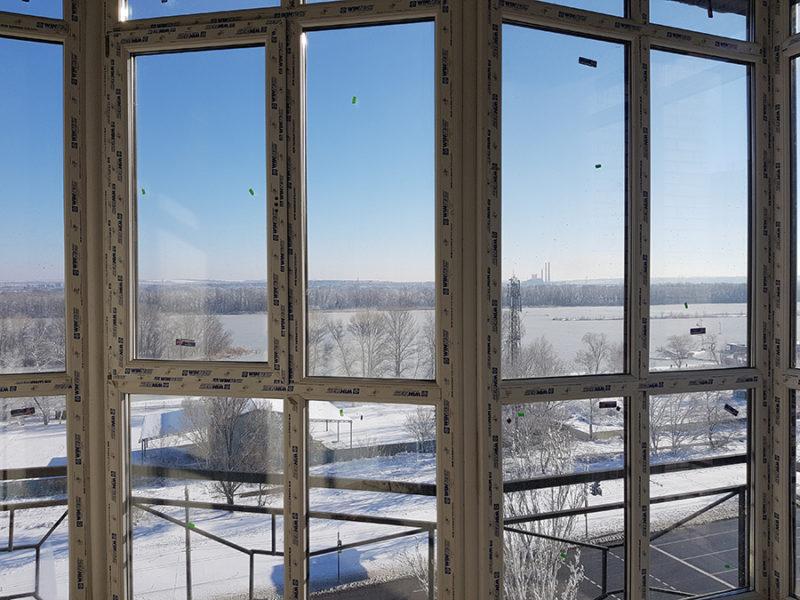 Панорамная лоджия в 9-ой секции