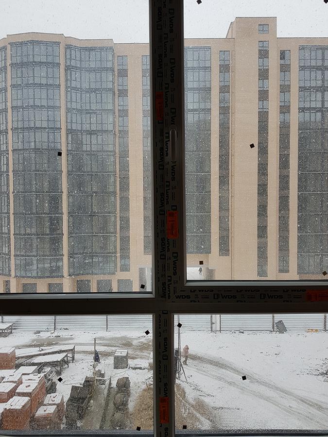 Вид из окна в 8-ой секции