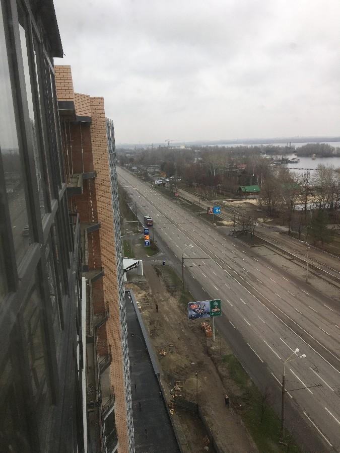 Вид с окна будущего владельца шикарной квартиры (9-10 секции)