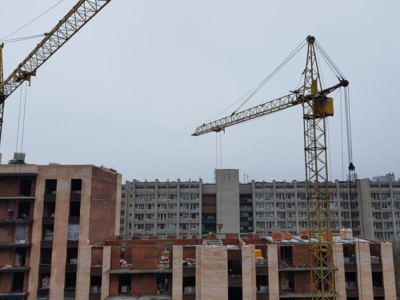 Перекрытие 9-го этажа в 8-ой секции