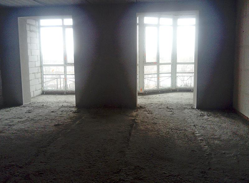 Спальня, гостиная 39.4 м2+ две лоджии (общей квадратурой 8.9)