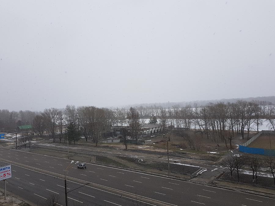 Вид на Днепр. Секция №9 (этаж 5)