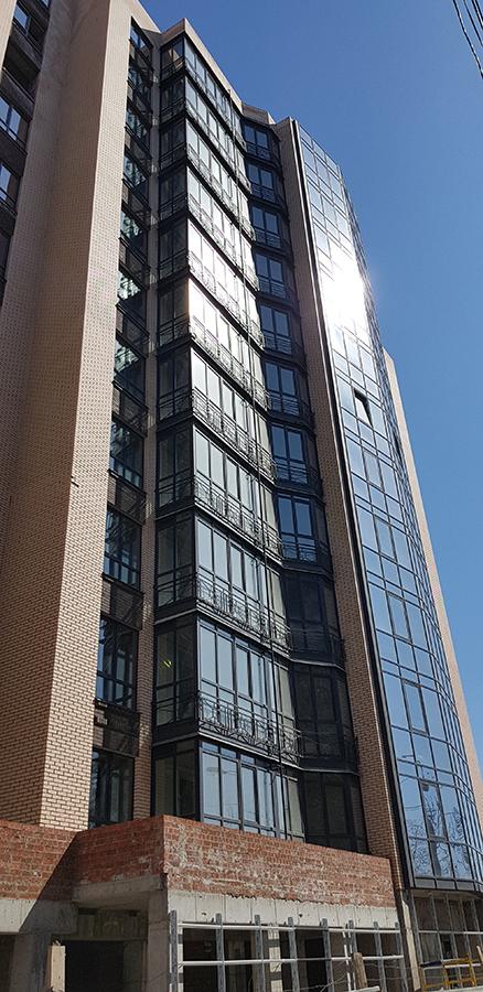 Фасад 9-ой секции