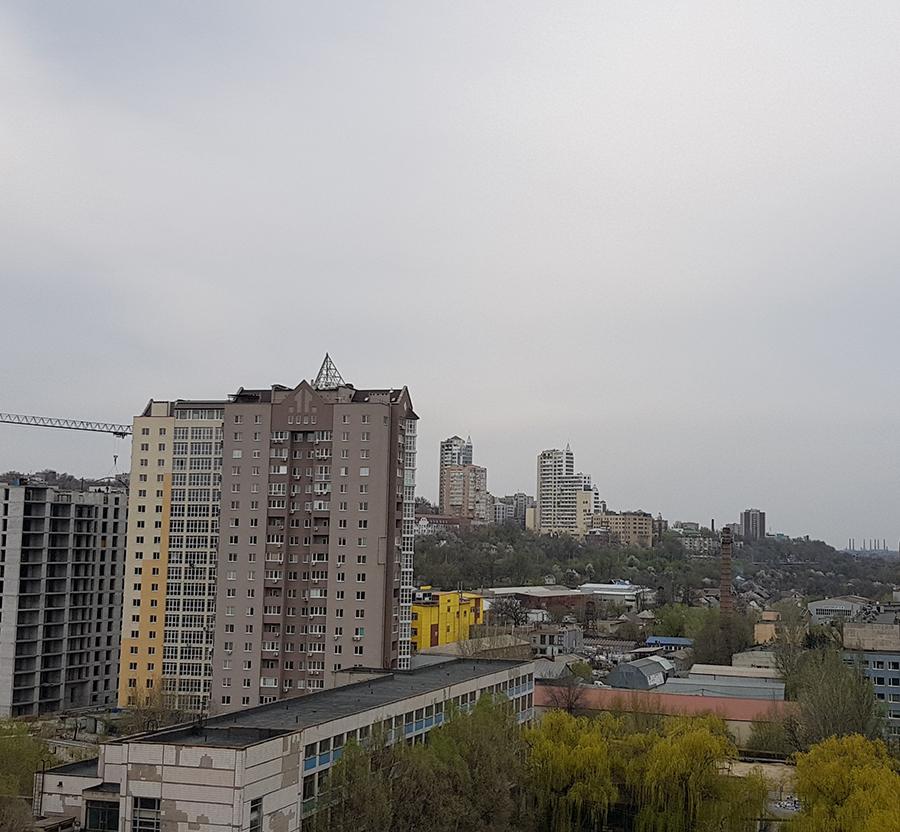 Вид из квартир 73,2 м2 и 86 м2 в 5-ой секции