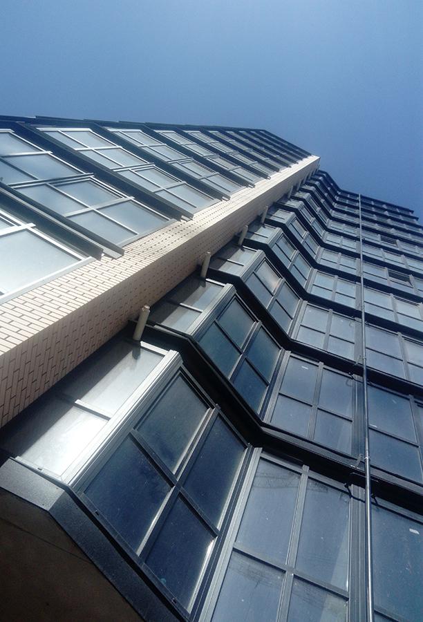 Эстетика части фасада.