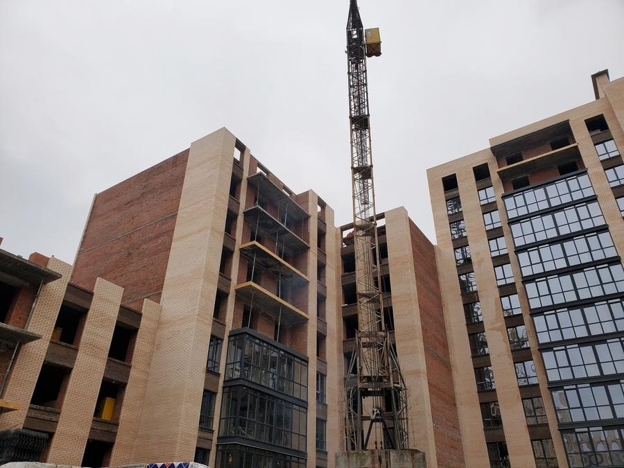 Темпы строительства радуют