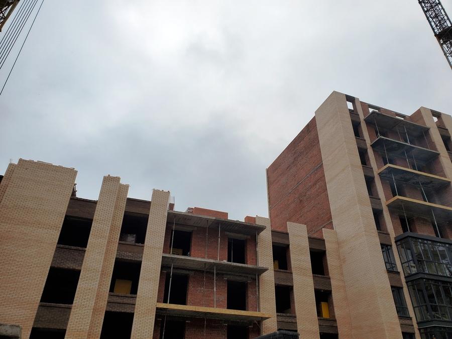Секция 15 - перекрыли 4 этаж