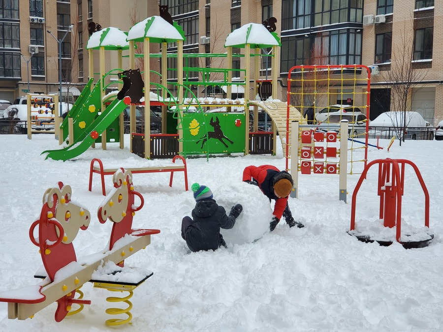 Зимняя сказка в ЖК River Park